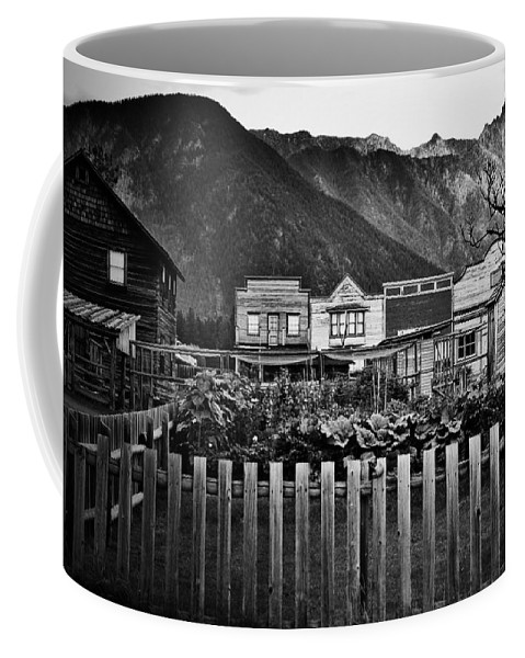 Window Coffee Mug featuring the photograph The Town by The Artist Project