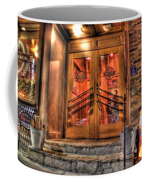 Coffee Mug featuring the photograph The Union Woodshop Clarkston Mi by Nicholas Grunas