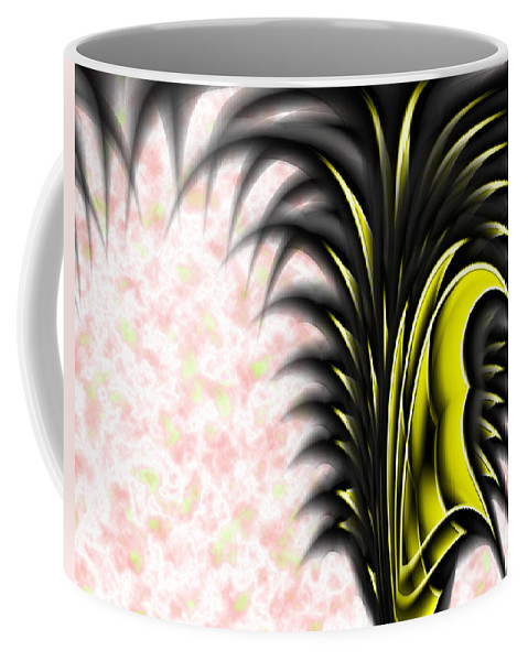 Wardrobe Coffee Mug featuring the painting The War Drobe by Christopher Gaston