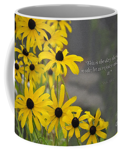 Diane Berry Coffee Mug featuring the painting This is the Day by Diane E Berry