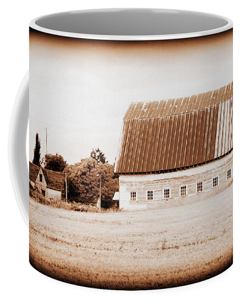 Barn Coffee Mug featuring the photograph This Old Farm IIi by Kathy Sampson