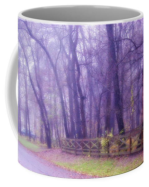 2d Coffee Mug featuring the photograph Thomas Road by Brian Wallace
