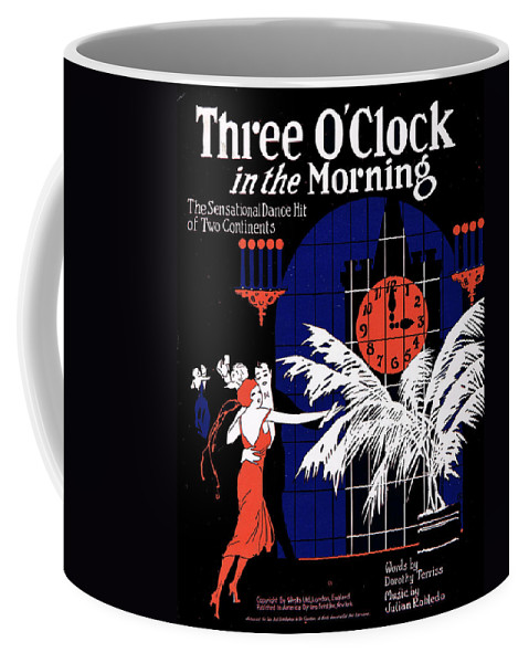Classic Coffee Mug featuring the photograph Three O'clock In The Morning by Mel Thompson