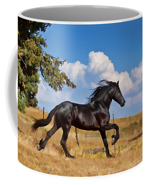 Thunderheads Coffee Mug featuring the photograph Thunderheads by Wes and Dotty Weber