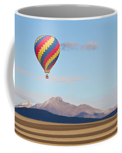 'hot Air Balloons' Coffee Mug featuring the photograph Ticket To Paradise by James BO Insogna
