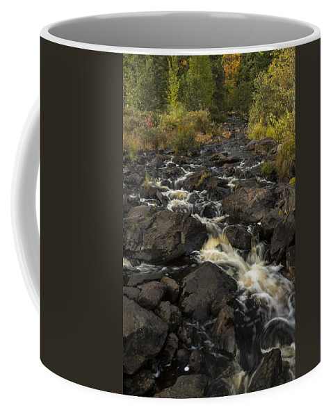 Tidga Coffee Mug featuring the photograph Tidga Creek Falls 3 by John Brueske