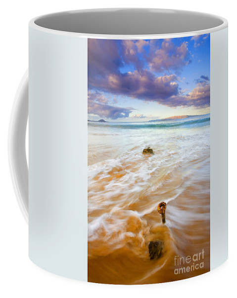 Eyebolt Coffee Mug featuring the photograph Tied To The Sea by Mike Dawson