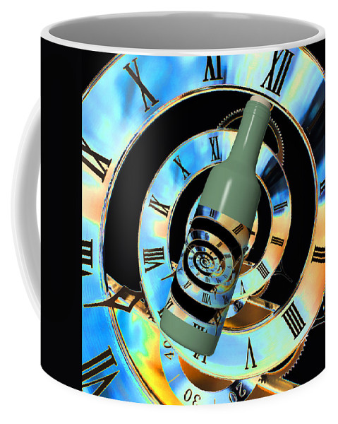 Time In A Bottle Coffee Mug featuring the photograph Time In A Bottle by Steve Purnell