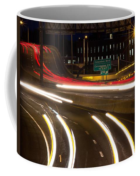 Hartford Coffee Mug featuring the photograph Time Lapse by Frank Pietlock