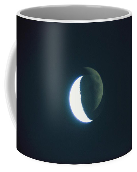 Moons Coffee Mug featuring the photograph Time-lapse Photography Of The Moon by Bill Curtsinger