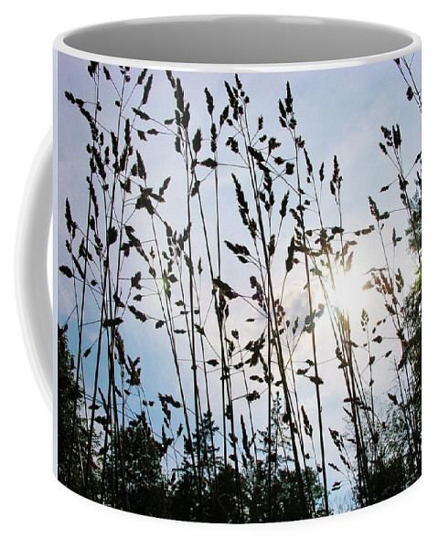 Grass Coffee Mug featuring the photograph Time To Mow by Sherman Perry