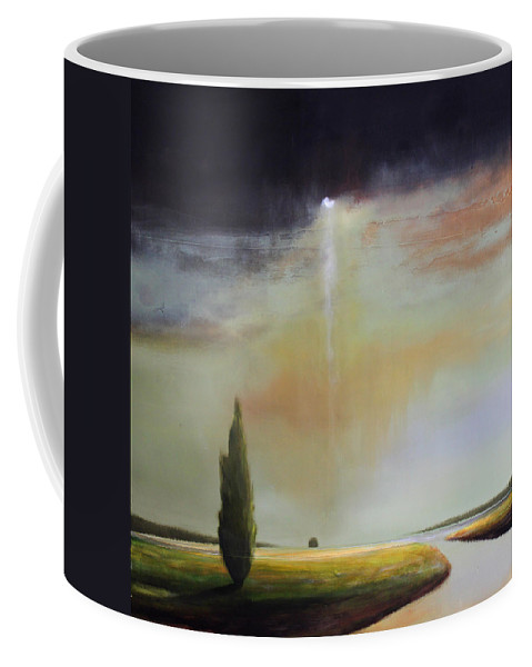 Light Coffee Mug featuring the painting Timeless Light by Toni Grote