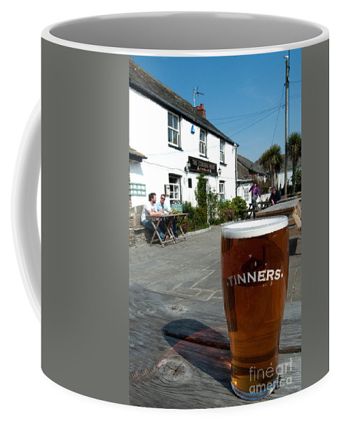 Beer Coffee Mug featuring the photograph Tinners by Rob Hawkins