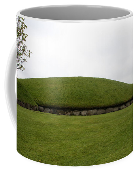 Tomb Coffee Mug featuring the photograph Tomb Group - Knowth - Ireland by Christiane Schulze Art And Photography