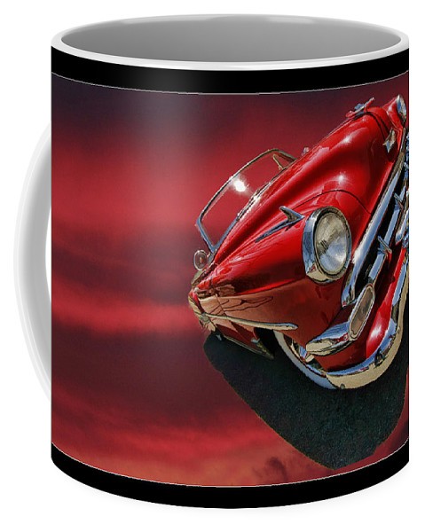Chevy Coffee Mug featuring the photograph Topless Chevy by Blake Richards