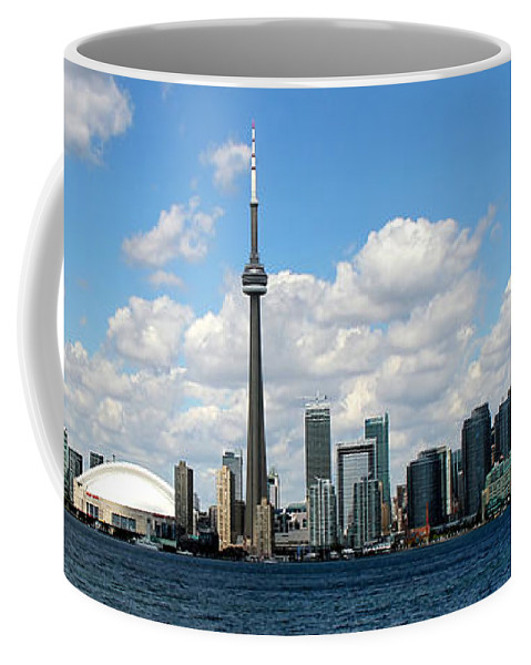 Toronto Skyline Coffee Mug featuring the photograph Toronto Skyline 10 by Andrew Fare