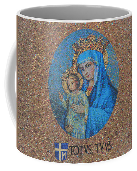 Totvs Tvvs - Jesus And Mary Coffee Mug featuring the photograph Totvs Tvvs - Jesus And Mary by Bill Cannon