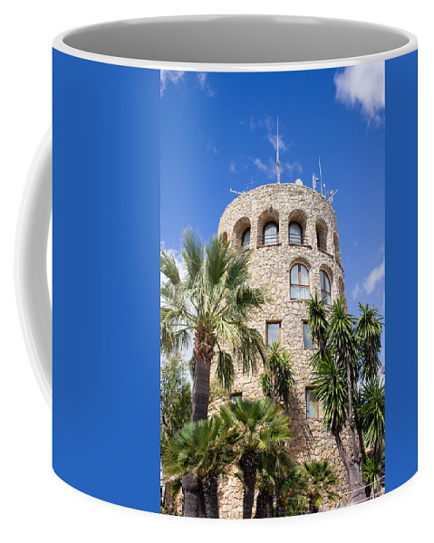 Tower Coffee Mug featuring the photograph Tower In Puerto Banus by Artur Bogacki