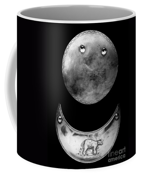 1780 Coffee Mug featuring the photograph Trade Silver Gorgets by Granger
