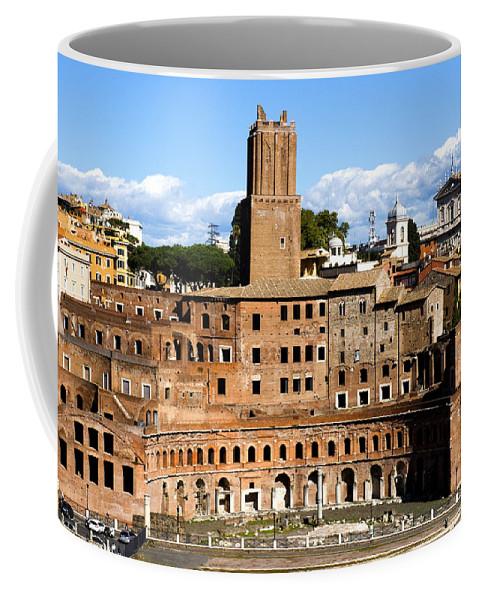 Trajan Market Coffee Mug featuring the photograph Trajan's Market by Fabrizio Troiani
