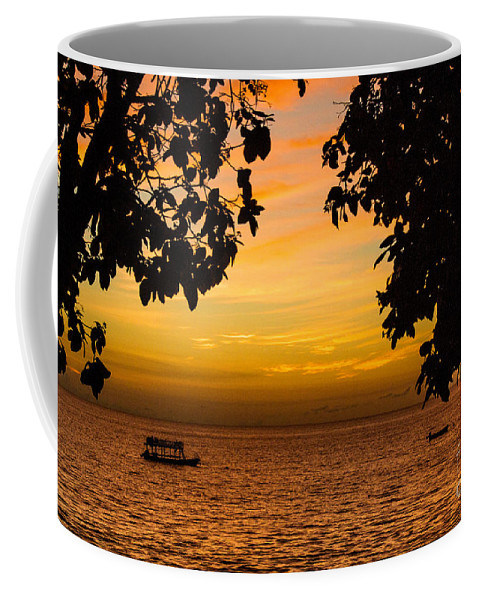 Sailing Coffee Mug featuring the photograph Tranquility Beyond The Trees by Rene Triay Photography
