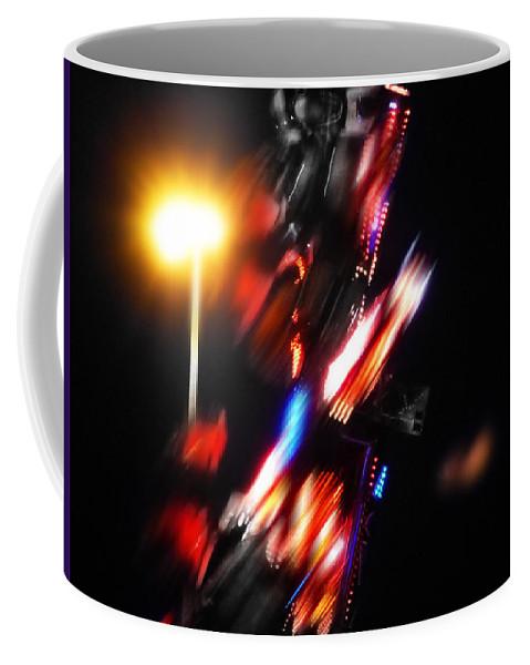 Transformer Coffee Mug featuring the digital art Transformer by Charles Stuart