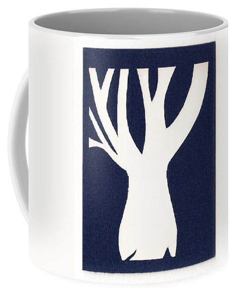 Tree Coffee Mug featuring the drawing Tree Of Life by Catherine Helmick