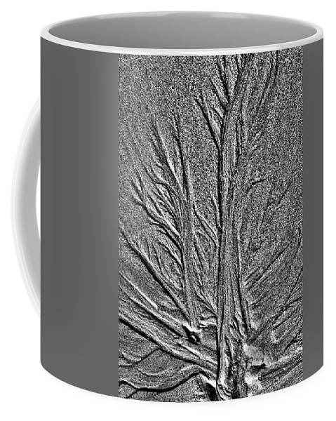 Sand Coffee Mug featuring the photograph Tree Of Life In The Sands Of Time Hdr Conversion by Glenn Gordon