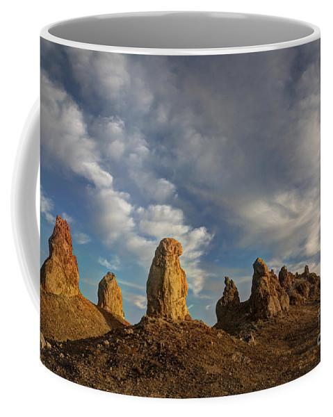 Trona Pinnacles Coffee Mug featuring the photograph Trona Pinnacles 4 by Vivian Christopher
