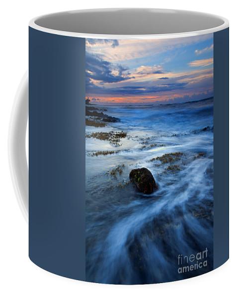 Koloa Coffee Mug featuring the photograph Tropical Sunrise Swirl by Mike Dawson