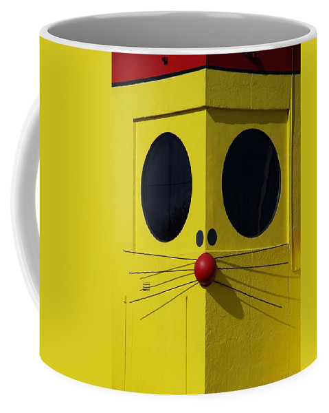 Rat Coffee Mug featuring the photograph Truly Nolen Rat by Rob Hans