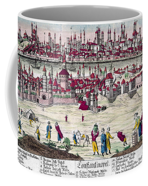 1820s Coffee Mug featuring the photograph Turkey: Istanbul, C1820s by Granger