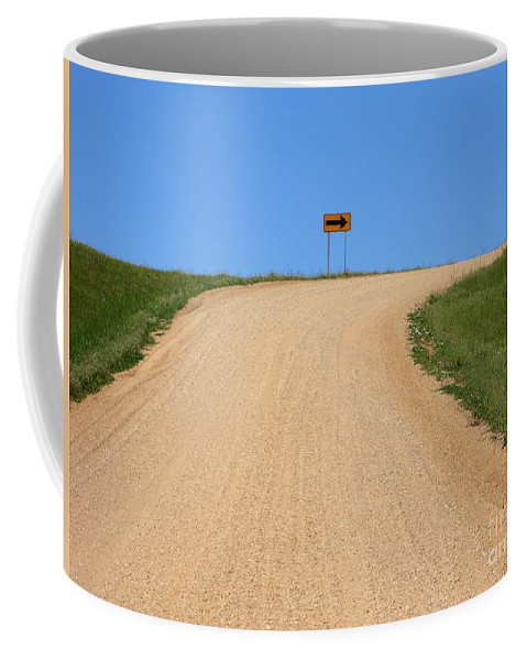 Sharp Coffee Mug featuring the photograph Turn by Olivier Le Queinec