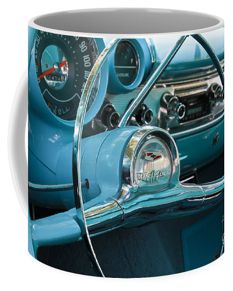 Classic Coffee Mug featuring the photograph Turquoise Belair by Dennis Hedberg
