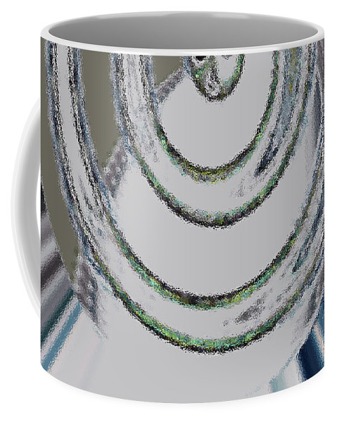 Digital Art Coffee Mug featuring the photograph Unlike Dimension by Tatjana Popovska