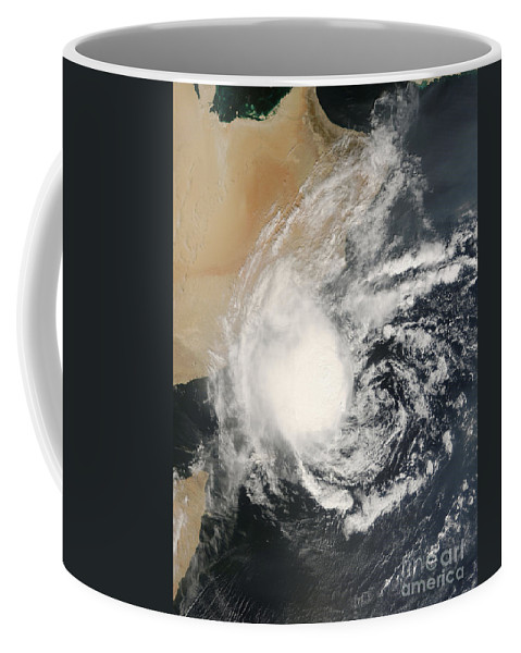 Arabian Sea Coffee Mug featuring the photograph Unnamed Tropical Cyclone Approaching by Stocktrek Images