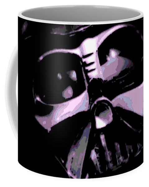 Darth Vader Coffee Mug featuring the photograph Up Close And Personal 2 by George Pedro
