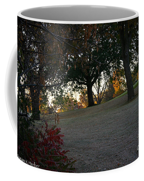 Outdoors Coffee Mug featuring the photograph Uphill Sunrise by Susan Herber