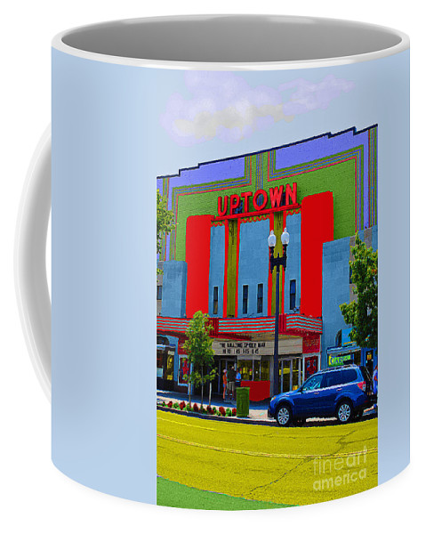 Uptown Coffee Mug featuring the photograph Uptown Theatre by Jost Houk