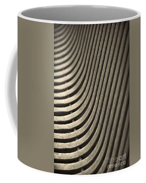 Abstract Coffee Mug featuring the photograph Upward Curve. by Clare Bambers