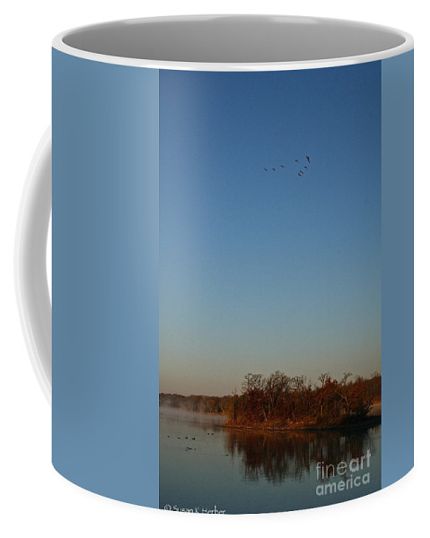 Outdoors Coffee Mug featuring the photograph V by Susan Herber