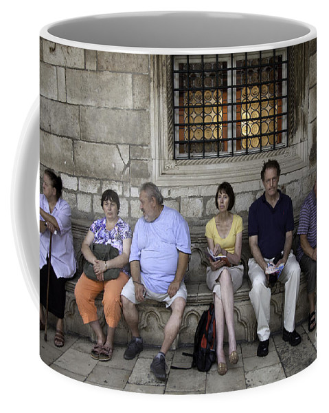 Vacation Coffee Mug featuring the photograph Vacation In Venice by Madeline Ellis