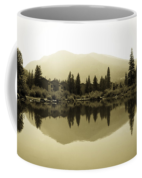 Vail Coffee Mug featuring the photograph Vail Reflections by Madeline Ellis