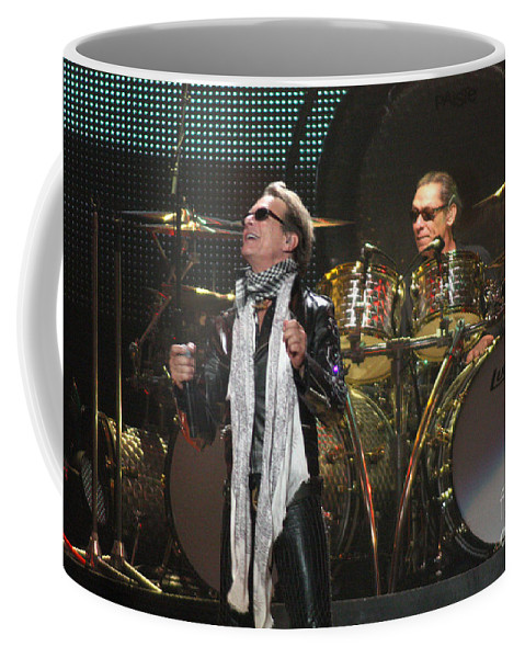 Van Halen Coffee Mug featuring the photograph Van Halen-7072 by Gary Gingrich Galleries