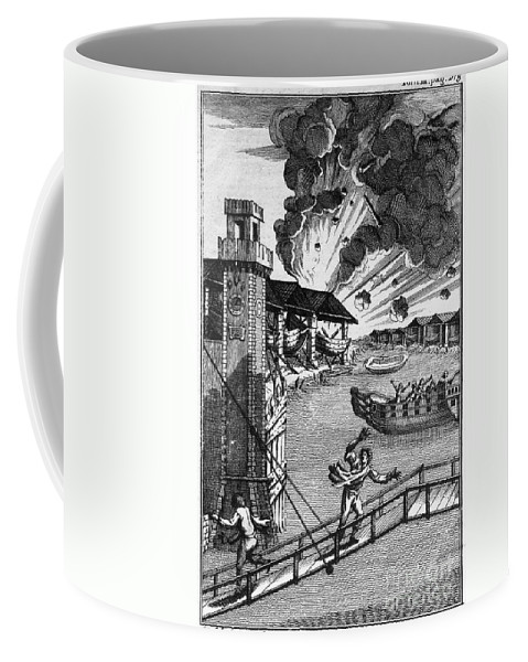 1793 Coffee Mug featuring the photograph Venice: Arsenal, 1793 by Granger