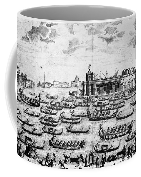 18th Century Coffee Mug featuring the photograph Venice: Grand Canal by Granger
