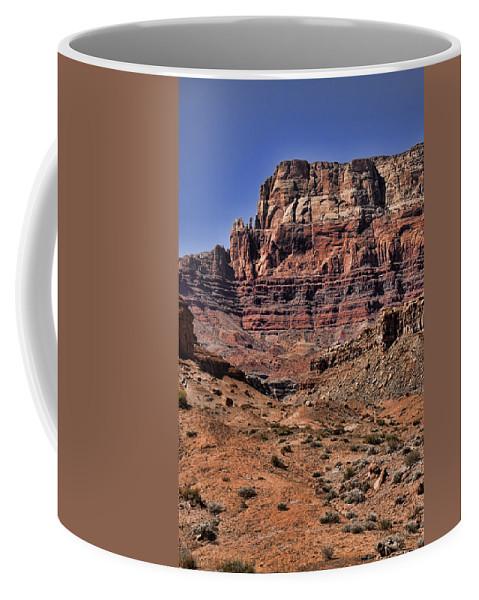 Vermilion Cliffs Coffee Mug featuring the photograph Vermilion Cliffs Arizona by Jon Berghoff