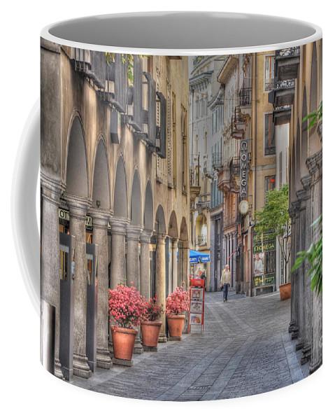 Street Coffee Mug featuring the photograph Via Nassa by Mats Silvan