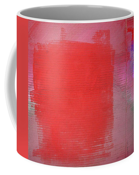 Vibes Coffee Mug featuring the painting Vibration by Charles Stuart