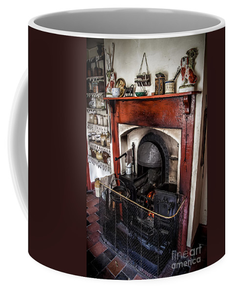 Architecture Coffee Mug featuring the photograph Victorian Range by Adrian Evans